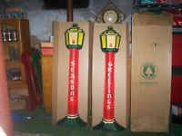 Noma VinTage Celluloid Candles Original box Christ