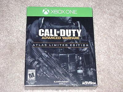 CALL OF DUTY ADVANCED WARFARE ATLAS LIMITED EDITION..XBOX ONE..**SEALED**NEW**!! comprar usado  Enviando para Brazil