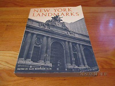 1976 New York Landmarks Alan Burnham Wesleyan U Press Pb Il 1St Ny Structures