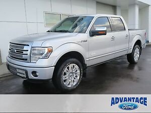 2013 Ford F-150 Platinum Nav. Moonroof. EcoBoost. Trailer Tow.