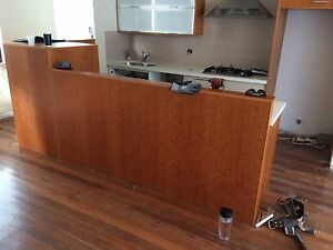 Kitchen Secondhand Caeserstone SMEG Rangehood Gas Cooktop Oven Tempe Marrickville Area Preview