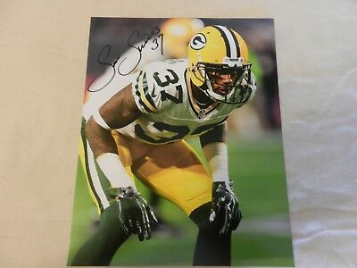 Sam Shields (Sam Shields #37 Green Bay Packers Signed Photograph)