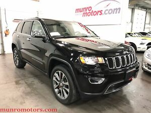2018 Jeep Grand Cherokee Limited Sunroof NAV Htd Seats/Steering