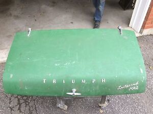 Triumph spitfire mk2  Trunk Peterborough Peterborough Area image 1