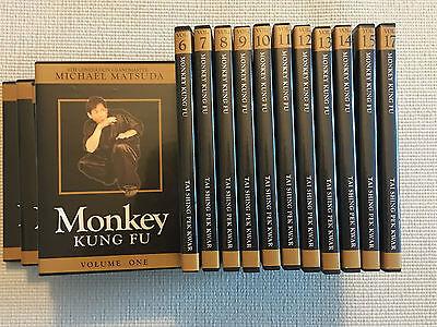 Monkey Kung Fu Tai Shing Sheng Pek Kwar Shaolin 17 Volume DVD Set
