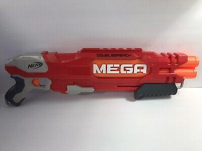 Nerf DoubleBreach Mega Shotgun Soft Dart Blaster