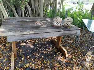 Lovely solid timber table