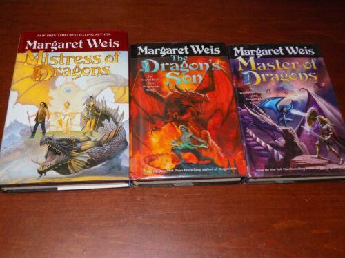 #1-3 The Dragonvarld Trilogy by Margaret Weis - hardback