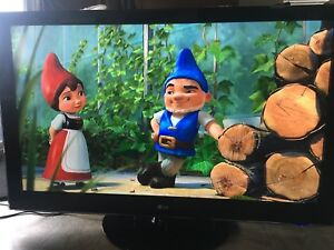 """LG 55"""" Full 240 HZ LCD TV W/Stand And Remote"""