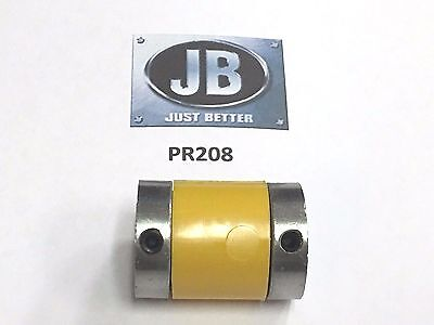 Jb Industries Vacuum Pump Flexible Coupler Pr-208-yellow Drive