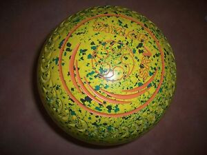 Taylor SRV Lawn Bowls Size 4H WB25 Rare Yellow/Green Speckled Surfers Paradise Gold Coast City Preview