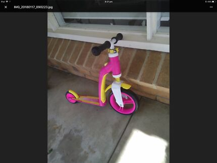 Scooter/balancing bike 2 years +