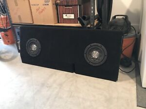 Tacoma Dual Subwoofer Box