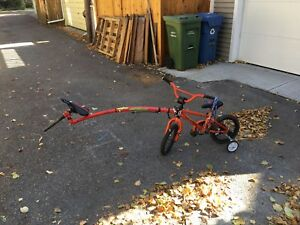 """Norco 14"""" Menace bike with Trail Gator"""