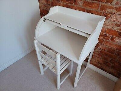 Childs Kids Junior Roll Top Bureau Desk & Chair