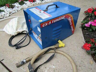 Graco Croix Cx-9 Turbine Commericial Hvlp Paint Sprayer