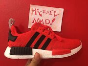 Adidas Nmd R1 red/black  size US 9.5 Marrickville Marrickville Area Preview