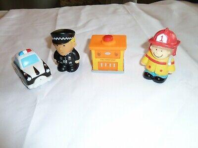 Elegant Baby Bath Toy (ELEGANT BABY RUBBER VINYL PVC BABY TODDLER BATH SQUIRT TOY HERO POLICE FIREMAN )