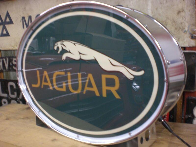 jaguar,e-type,mk2,xk,xf,classic,XJS,XJ6,,mancave,lightup sign,garage,workshop