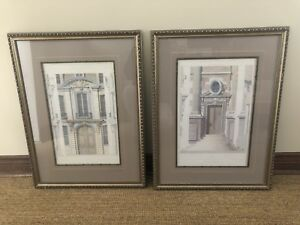 Antique architectural sketches from Cesar Daly Louis & Henry