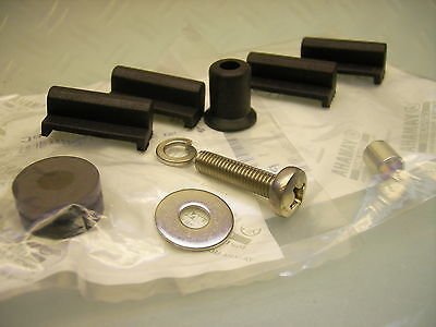 Side Panel Mounting Kit YAMAHA RD125 RD200 Seitendeckel Montage Set