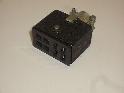 Vintage Cinch Jones Beau Molex S-308-cct Power Connector Socket Metal Hood 8 Pin
