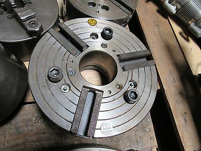10 Pratt Burnerd 3 Jaw Chuck Cn 9827-27010 H16651 23 Max 4200 Rpm