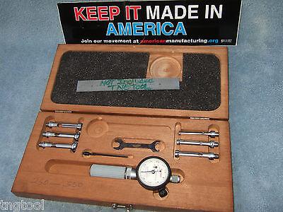 Starrett No.82bz Dial Bore Gage Set Wrench Missn Machinist Toolmaker Inspection