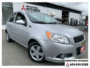 2011 Chevrolet Aveo Aveo 5 LT; Local BC vehicle! LOW KMS!