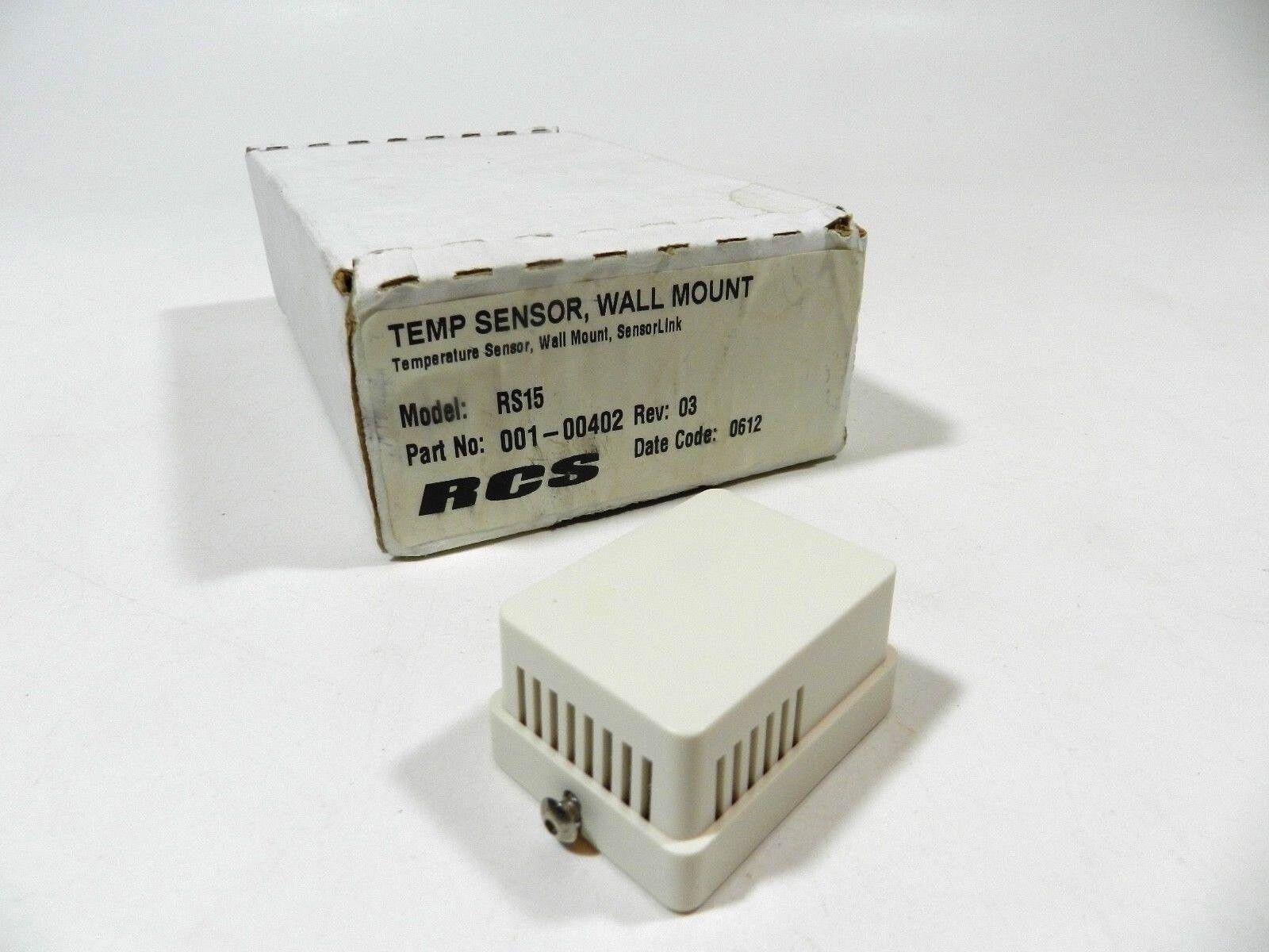 RCS RS15 Remote Temperature Sensor