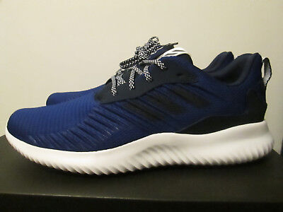 61afbeb14 Adidas AlphaBounce RC M Navy Blue Lightweight Running Performance Shoes 11.5
