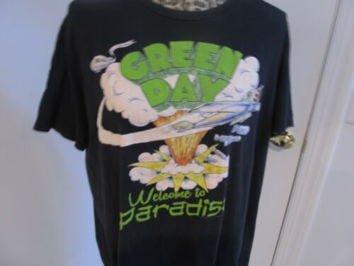 Green day dookie shirt ExTRA LARGE XL  Welcome to paradise tee
