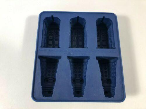 Doctor Who Silicone Ice Cube Tray Tardis & Daleks Mold