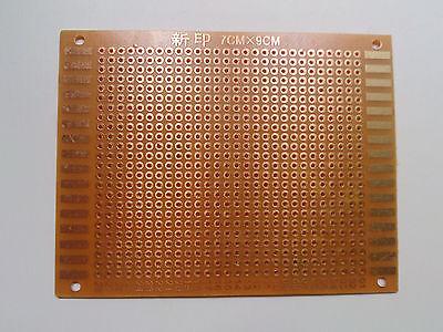 7x9cm Single Side Copper Prototype Paper Pcb Breadboard