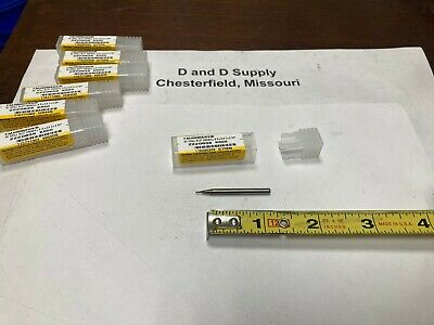Kennametal 2220638 Carbide Drill Slot Endmill 3-flute .8mm 1.5mm Loc
