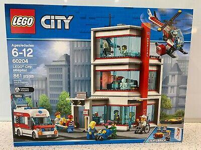 Lego City - City Hospital (60204) New, Sealed, Retired & Unopened NIB