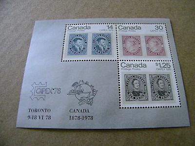 CANADA CAPEX 1978  STAMP SHEET