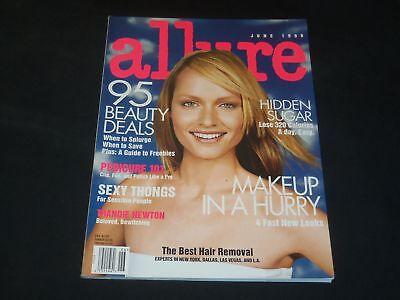 1999 June Allure Magazine   Amber Valletta   Fashion Cover   O 8160
