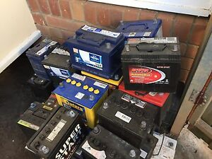 second hand batteries in great condition for cars Padstow Bankstown Area Preview