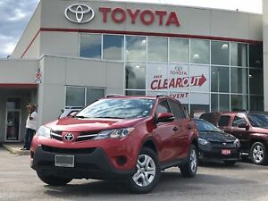 2013 Toyota RAV4 LE|FWD|NEW TIRES|SINGLE OWNER