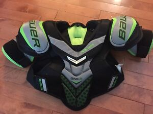 Bauer One Supreme Shoulder Pads - size small (youth)