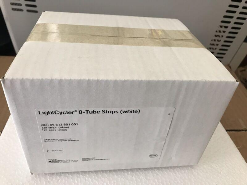 Roche LightCycler 8-tube Strips (White)  120 Stripe and Caps