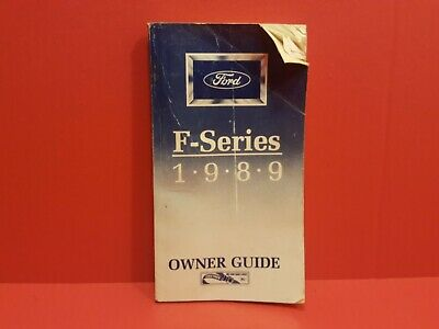 89 1989 Ford F-Series Owners Manual