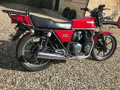 Kawasaki Z550 1982, very clean and tidy bike MOT 08/2021
