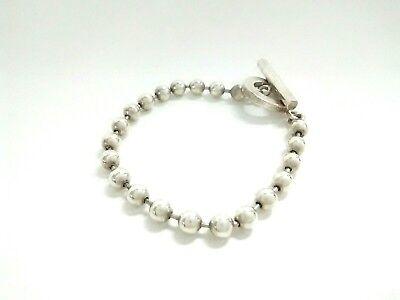 Auth GUCCI Silver Bracelet