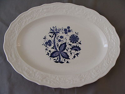 "Rare Vintage ""Blue Onion"" Design 11"" Platter on Rummage"