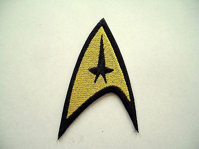 Star Trek TOS Command Emblem Embroidered Patch,Enterprise,badge,Federation