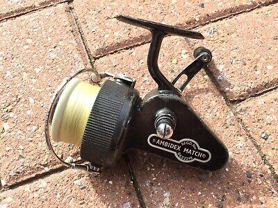 SCARCE J. W. YOUNG AMBIDEX MATCH VINTAGE FISHING REEL.