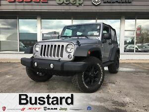 2017 Jeep Wrangler Sport | Demo | Tire and Rim Package