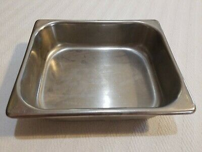 Vollrath 7510-2 Stainless Steel Instrument Tray 9.5x7.5x2.25